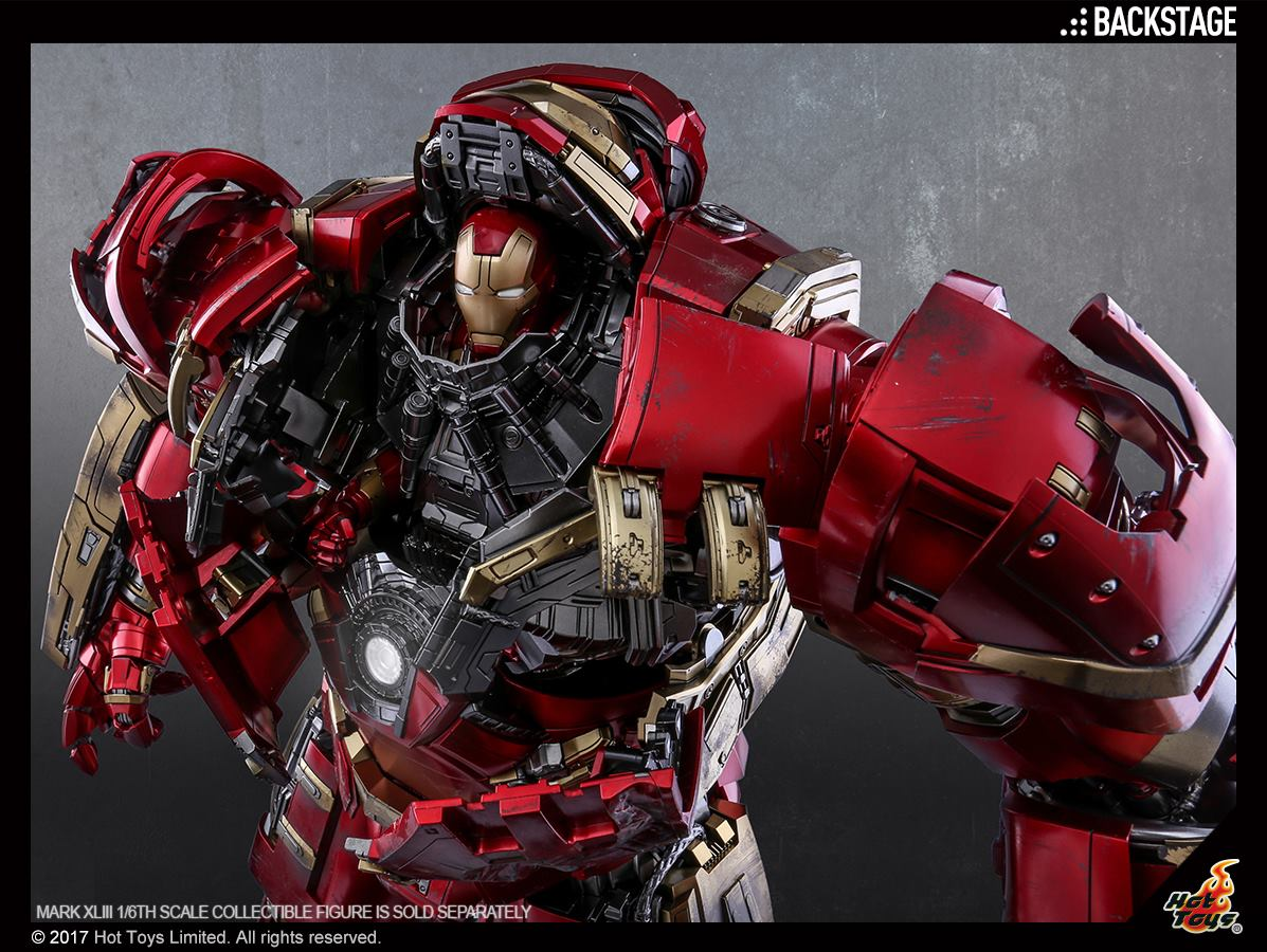 Hot Toys Avengers: Age Of Ultron Hulkbuster Sixth Scale Figure New Production Images