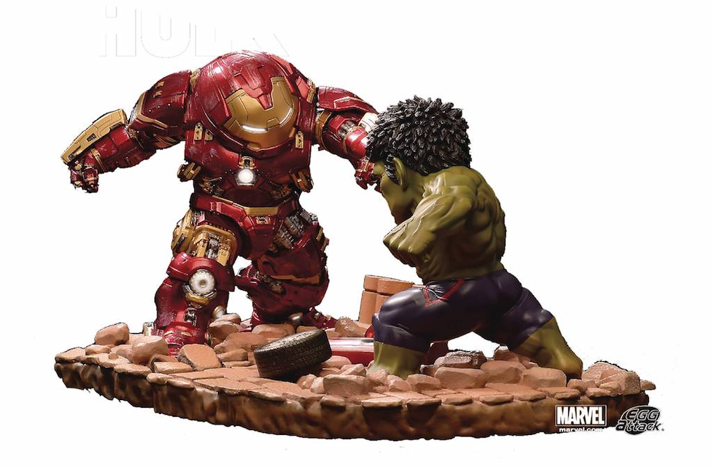 Diamond, Beast Kingdom Prepare For A Civil War With The Release Of New PX Egg Attack Figures