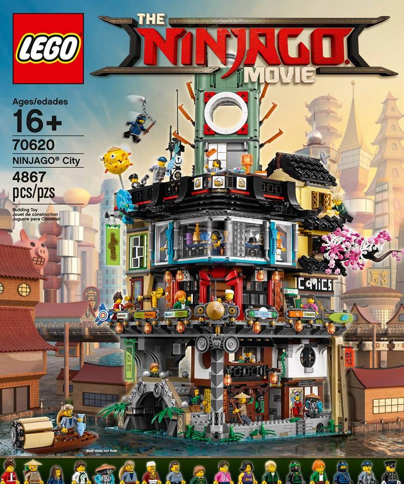 LEGO Announces Ninjago Movie 70620 City Set Coming September 1st