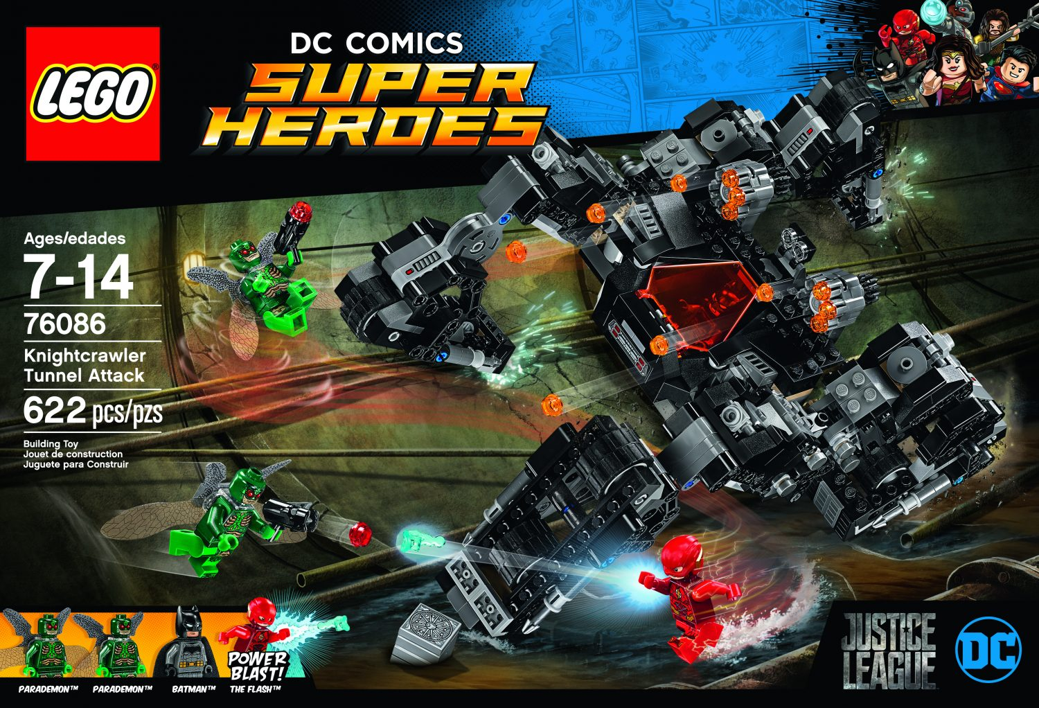 LEGO Super Heroes – Justice League Movie Sets Announced