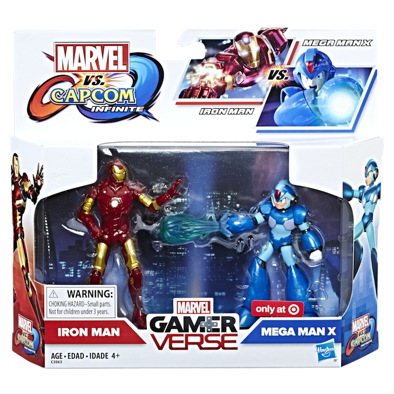 Marvel vs. Capcom: Infinite 3.75 Inch Figure 2-Pack Details