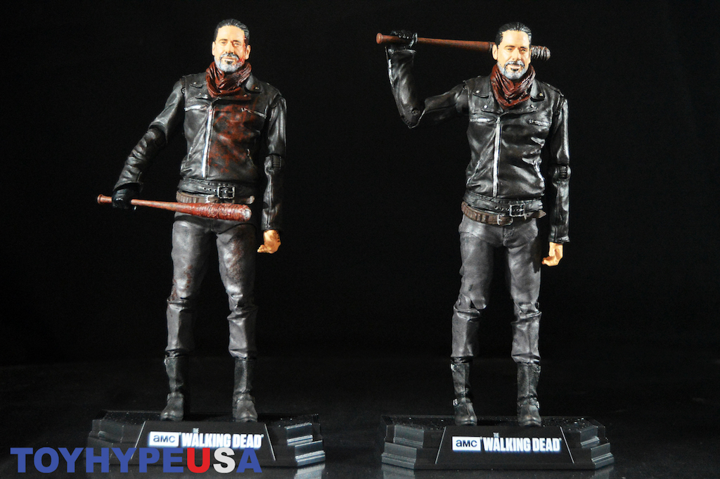 McFarlane Toys The Walking Dead Negan & Bloody Negan 7″ Figures Review