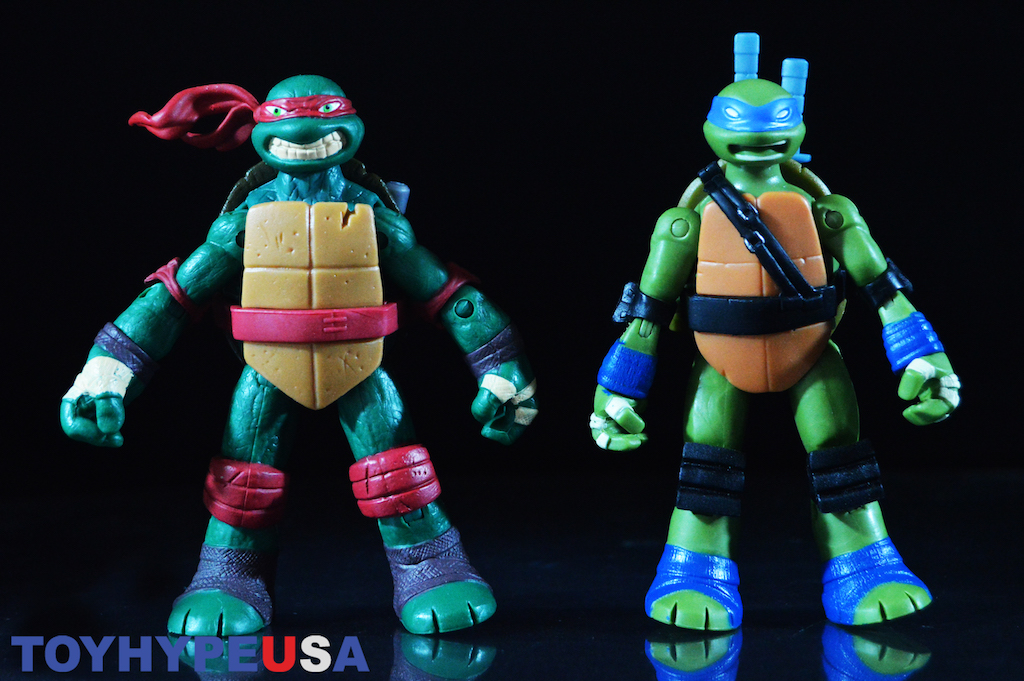 Playmates Toys Teenage Mutant Ninja Turtles Battle Shell Leonardo