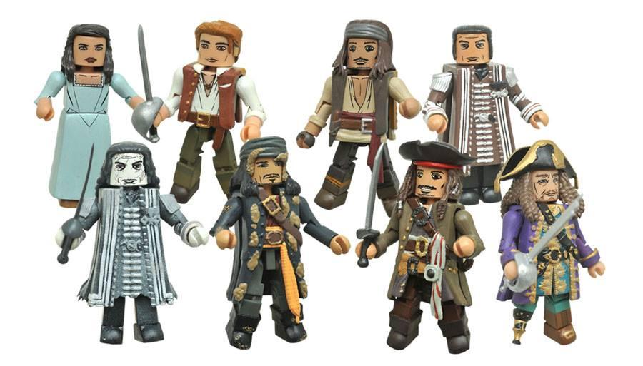 Diamond Select Toys New Releases – Old Man Logan, The Joker, & POTC Minimates