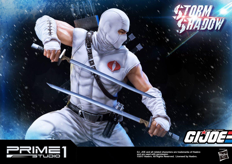 Prime 1 Studio G.I. Joe PMGJ-02: Storm Shadow Statue Official Details & Images