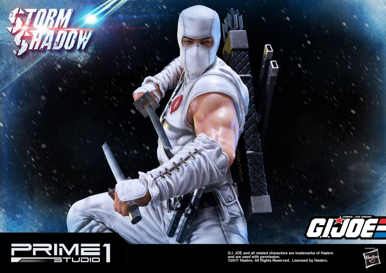 Prime 1 Studio G.I. Joe PMGJ-02: Storm Shadow Statue Pre-Orders