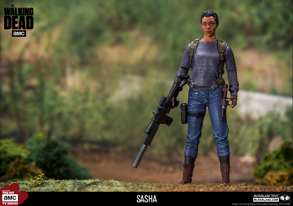 McFarlane Toys The Walking Dead Walgreens Exclusive 5″ Sasha Figure Updated Images
