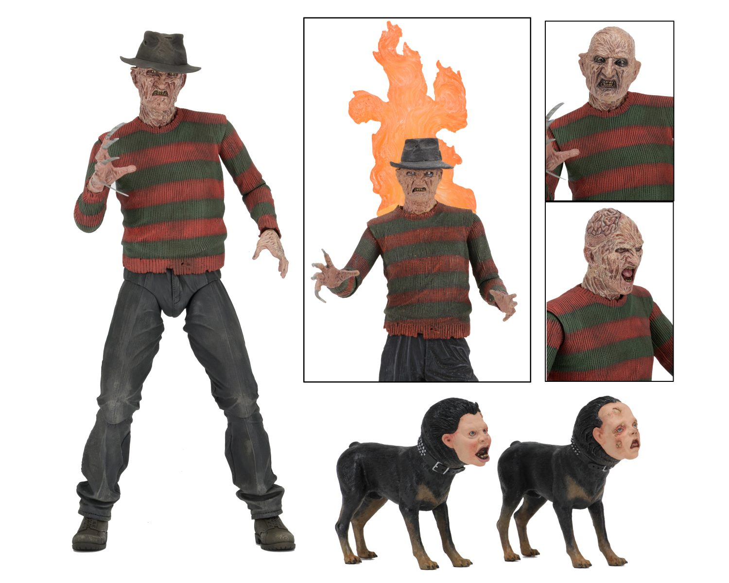 NECA Toys Nightmare On Elm Street – 7″ Scale Ultimate Part 2 Freddy