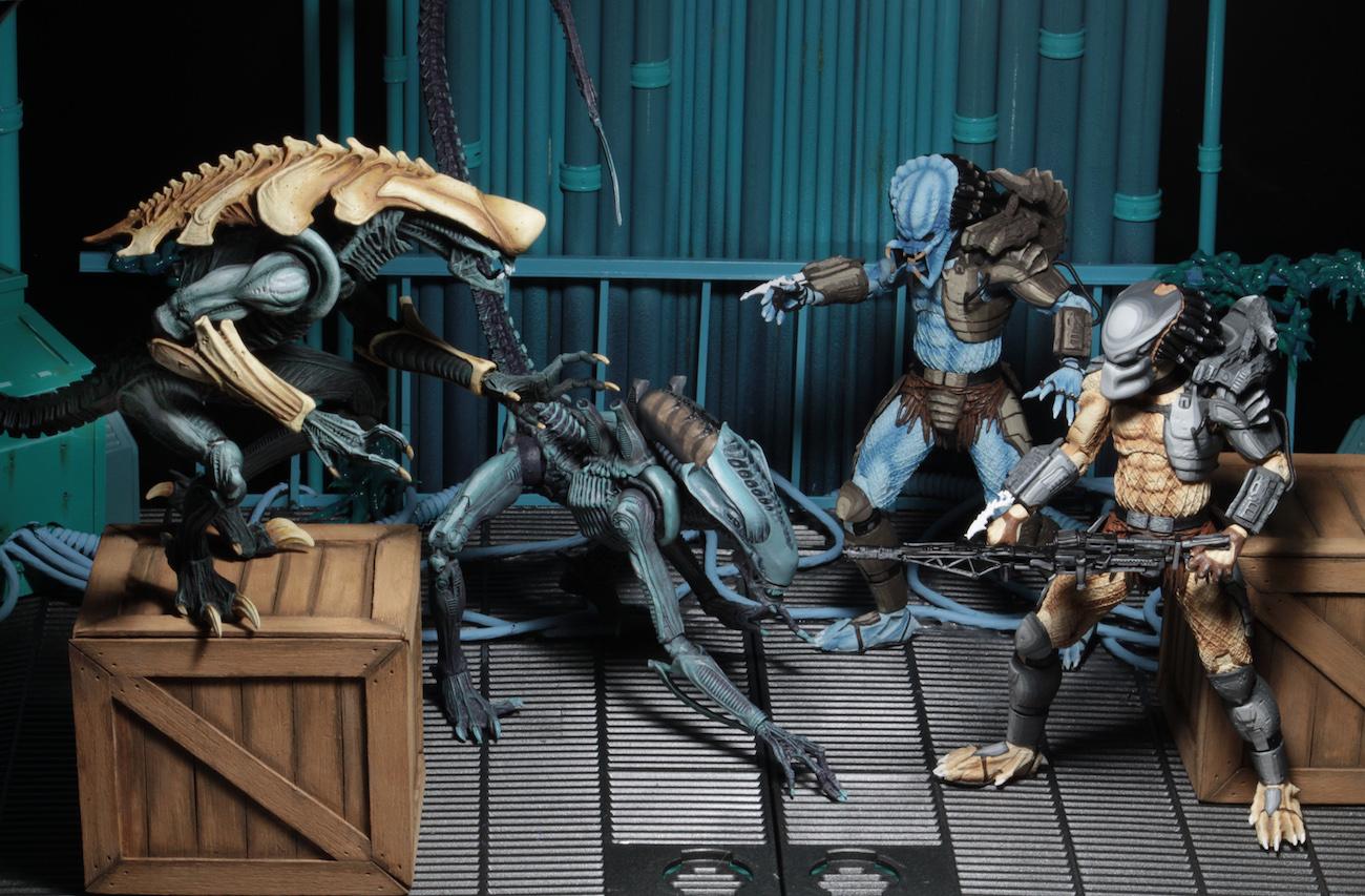 NECA Toys Alien Vs Predator -Arcade Appearance – 7″ Scale Figures