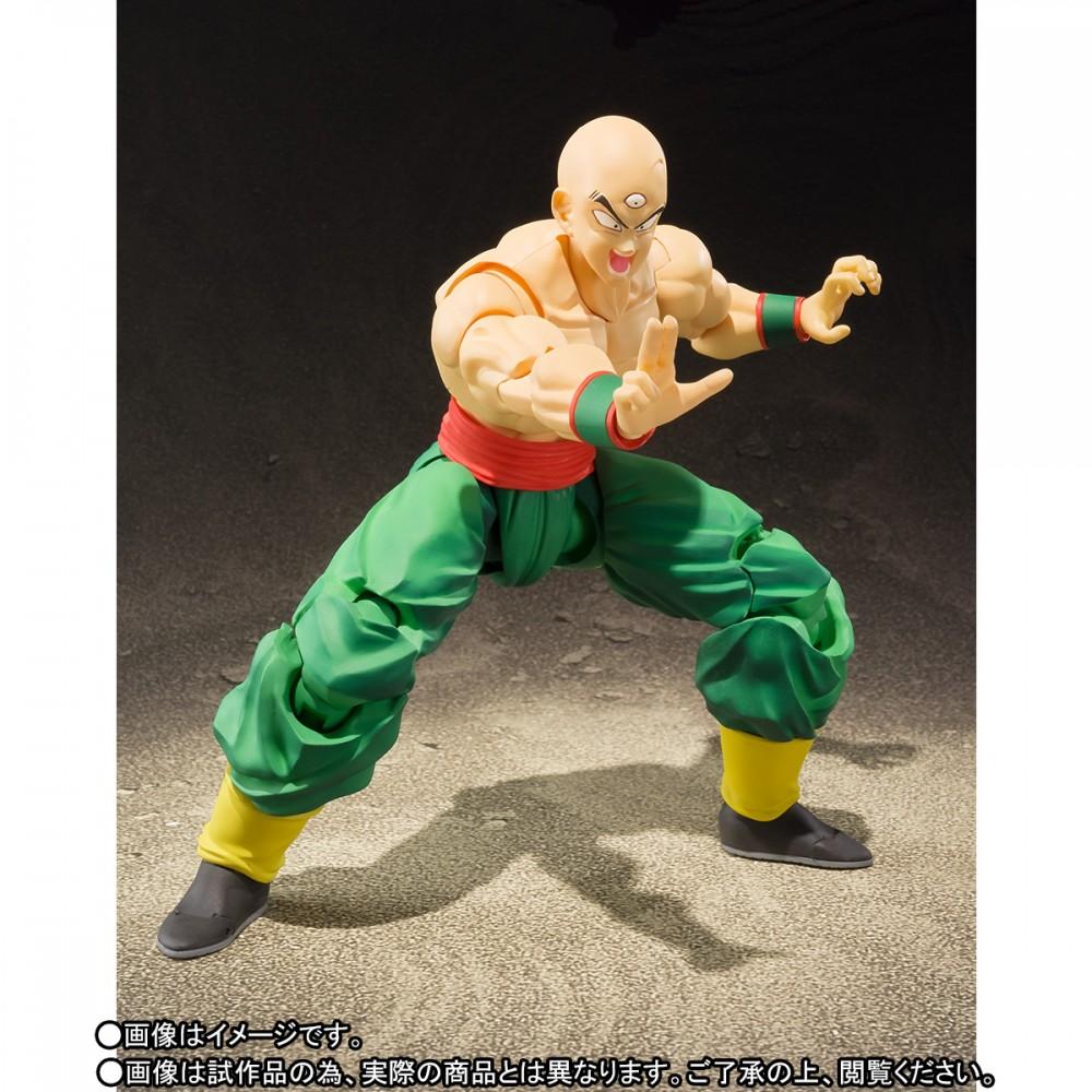 Dragon Ball Z S.H. Figuarts Tien With Chiaotzu Figure Now $60 On Amazon