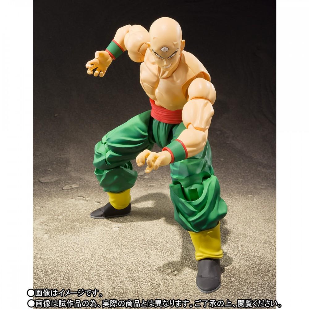 Entertainment Earth – Dragon Ball Z S.H. Figuarts Tien With Chiaotzu Figure In-Stock
