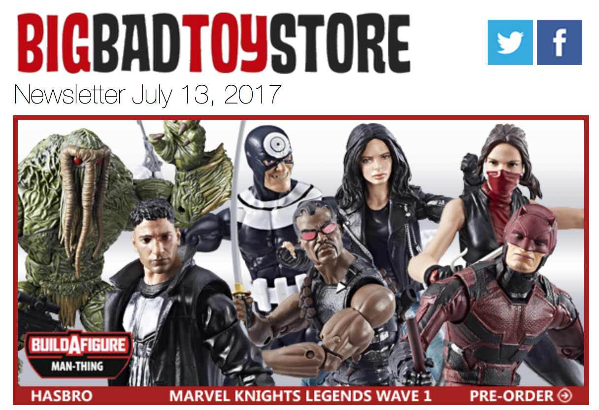 BigBadToyStore: Marvel Legends, Pokemon, SDCC, Takara Transformers, Street Fighter, Overwatch & More