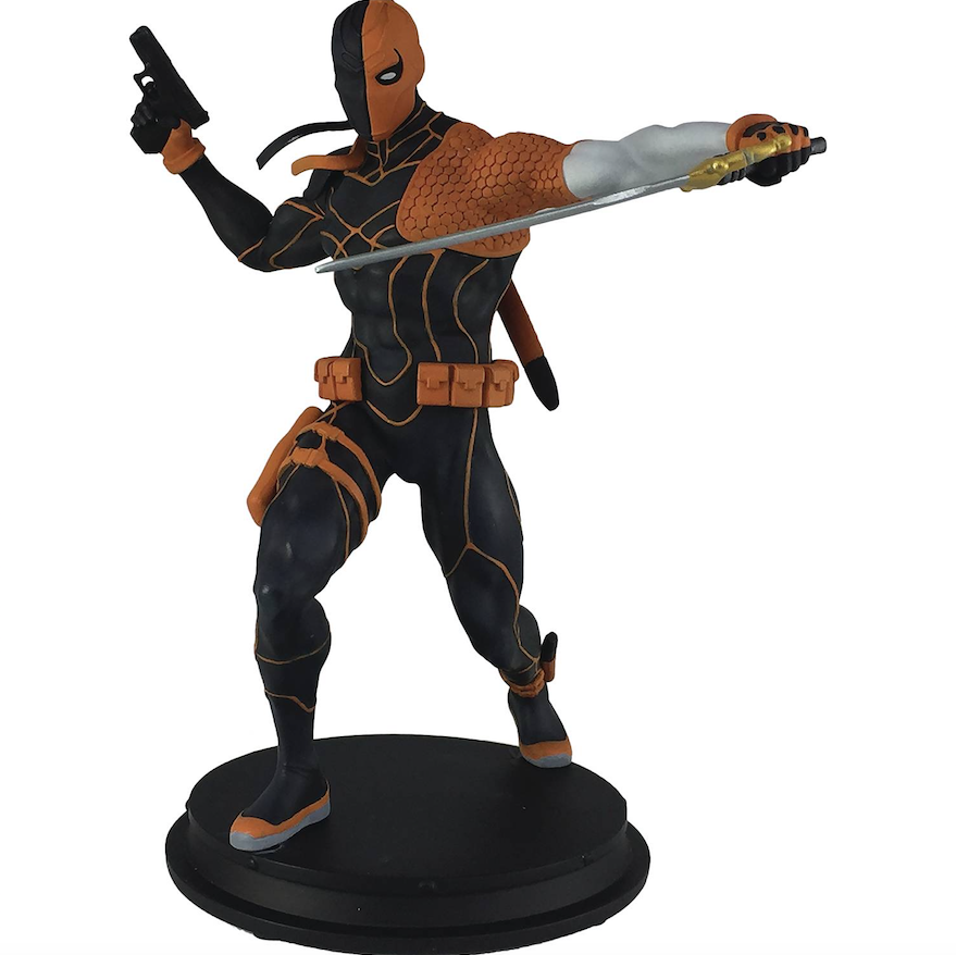 Diamond, Icon Heroes Hit The Mark With The New PREVIEWS Exclusive Rebirth Deathstroke Statue