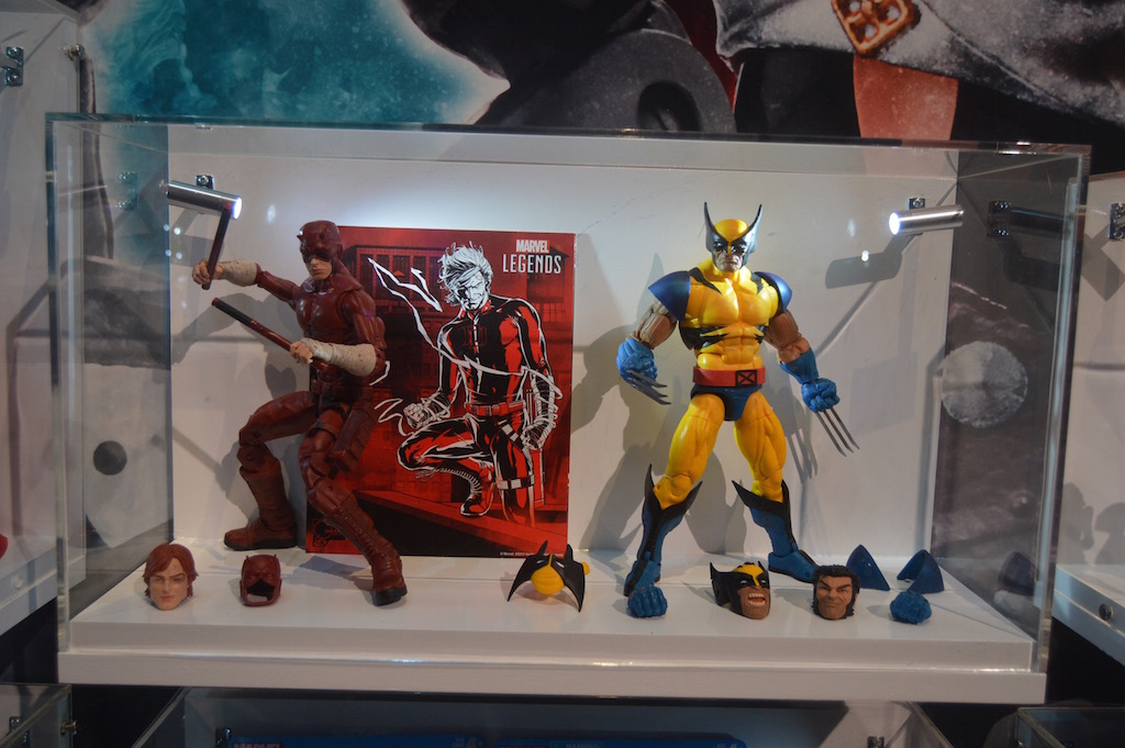 SDCC 2017 – Hasbro Marvel Legends 12″ Wolverine, Deadpool, & 6″ Secret Wars Update