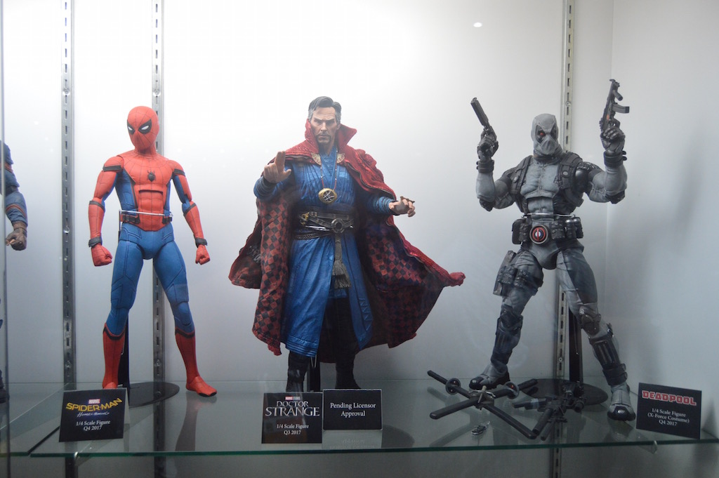 SDCC 2017 – NECA Toys 1/4″ Marvel Figures & Ultimate Chucky 7″ Figure