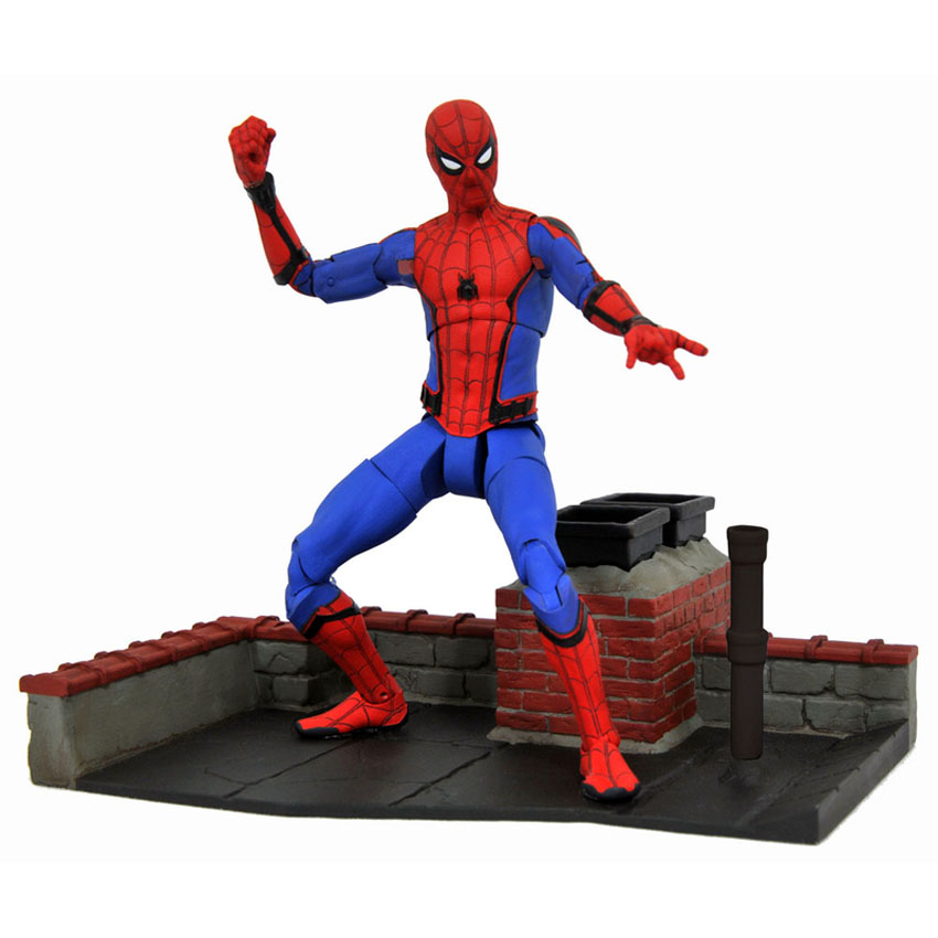 Diamond Select Toys Marvel Select Spider-Man: Homecoming – Tech Suit Spider-Man