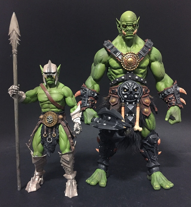 Four Horsemen Studios Mythic Legions Ogre Scale Figures Revealed