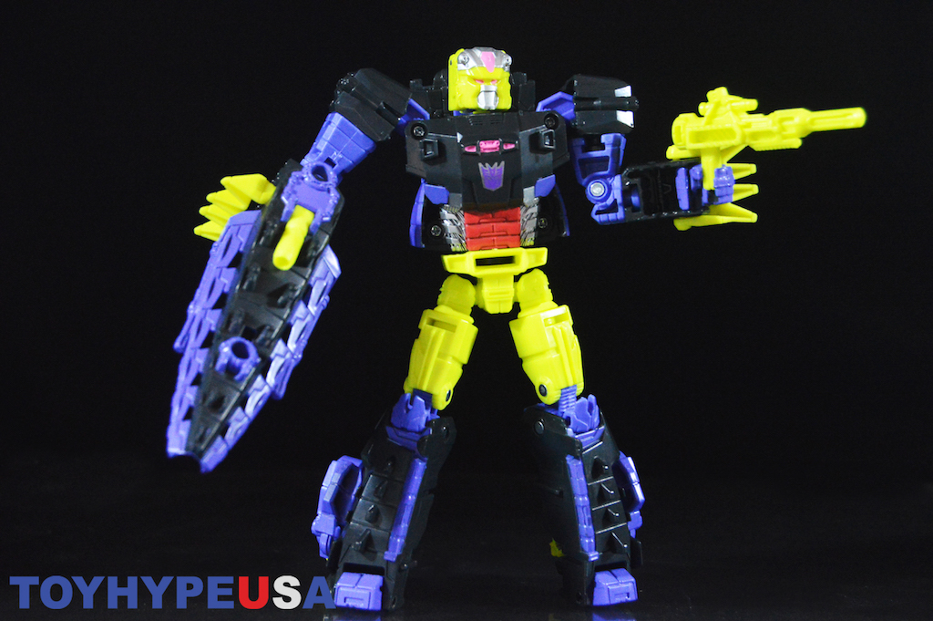Hasbro Transformers Titans Return Decepticon Krok & Gatorface Figure Review