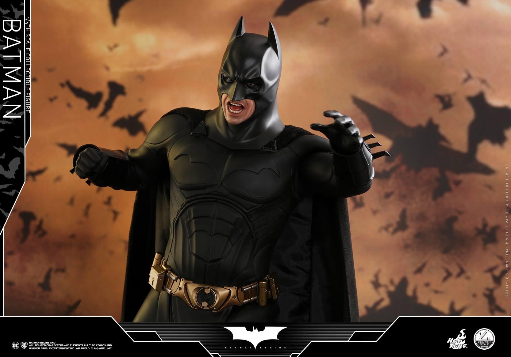 Hot Toys Justice League Dark Knight Trilogy Batman & Joker 1/4″ Scale Figures