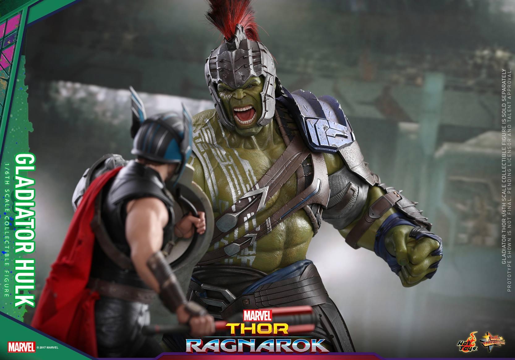 Hot Toys Thor: Ragnarok Hulk & Thor Sixth Scale Figure Pre-Orders