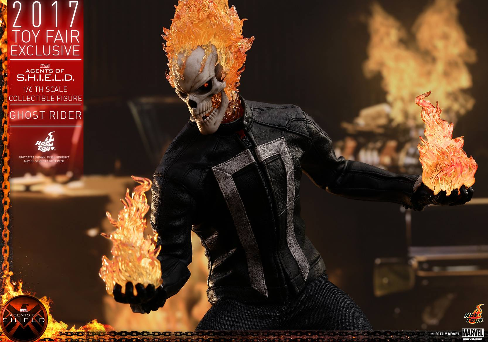 Hot Toys Agents Of S.H.I.E.L.D. Ghost Rider Sixth Scale Figure