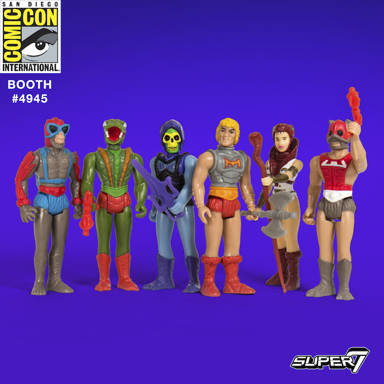 Super 7 Masters Of The Universe Offerings At San Diego Comic-Con 2017