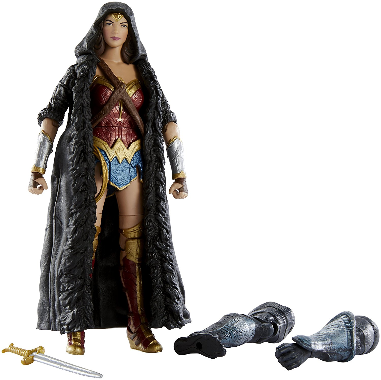 Amazon Prime 20% Off Deal On Mattel DC Multiverse Wonder Woman Movie Caped Figure
