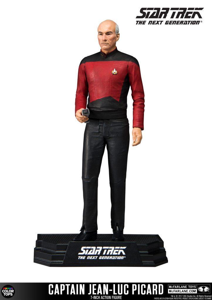 McFarlane Toys Reveals Star Trek 7″ Color Tops Figures