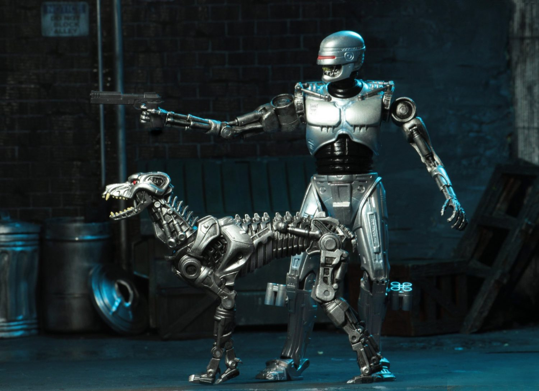 NECA Toys Robocop Vs. Terminator – Endocop & Terminator Dog SDCC Preview
