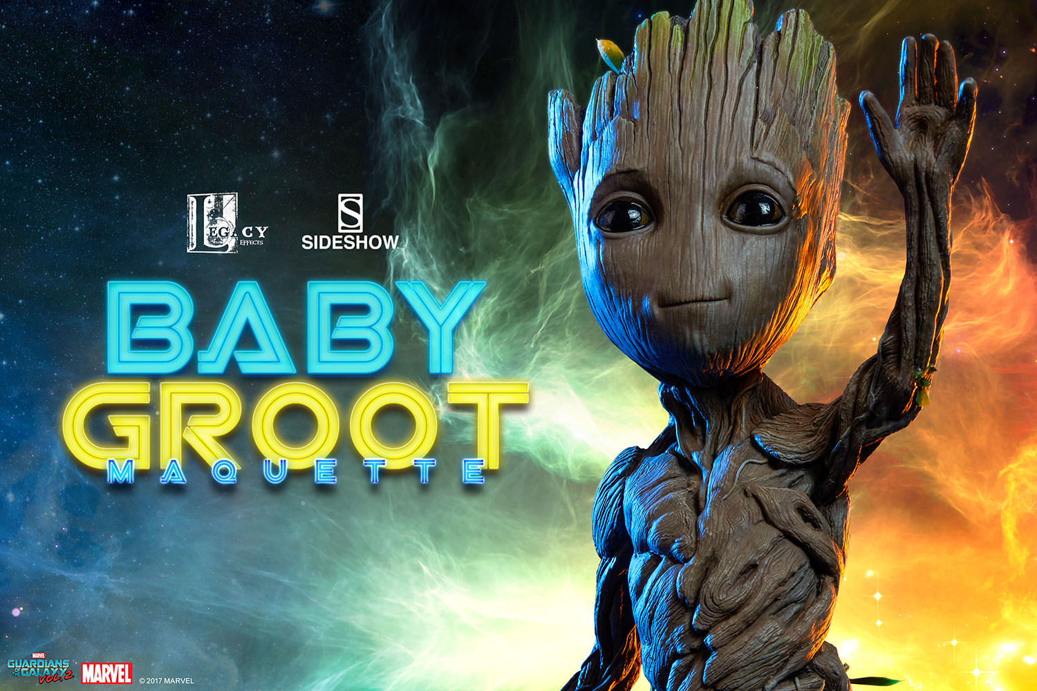 Sideshow Collectibles Guardians Of The Galaxy Vol. 2 – Baby Groot Maquette Pre-Orders