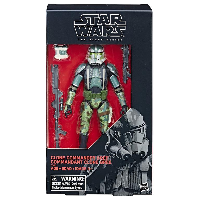 Hasbro Star Wars The Black Series 6″ Commander Gree Figure Pre-Orders