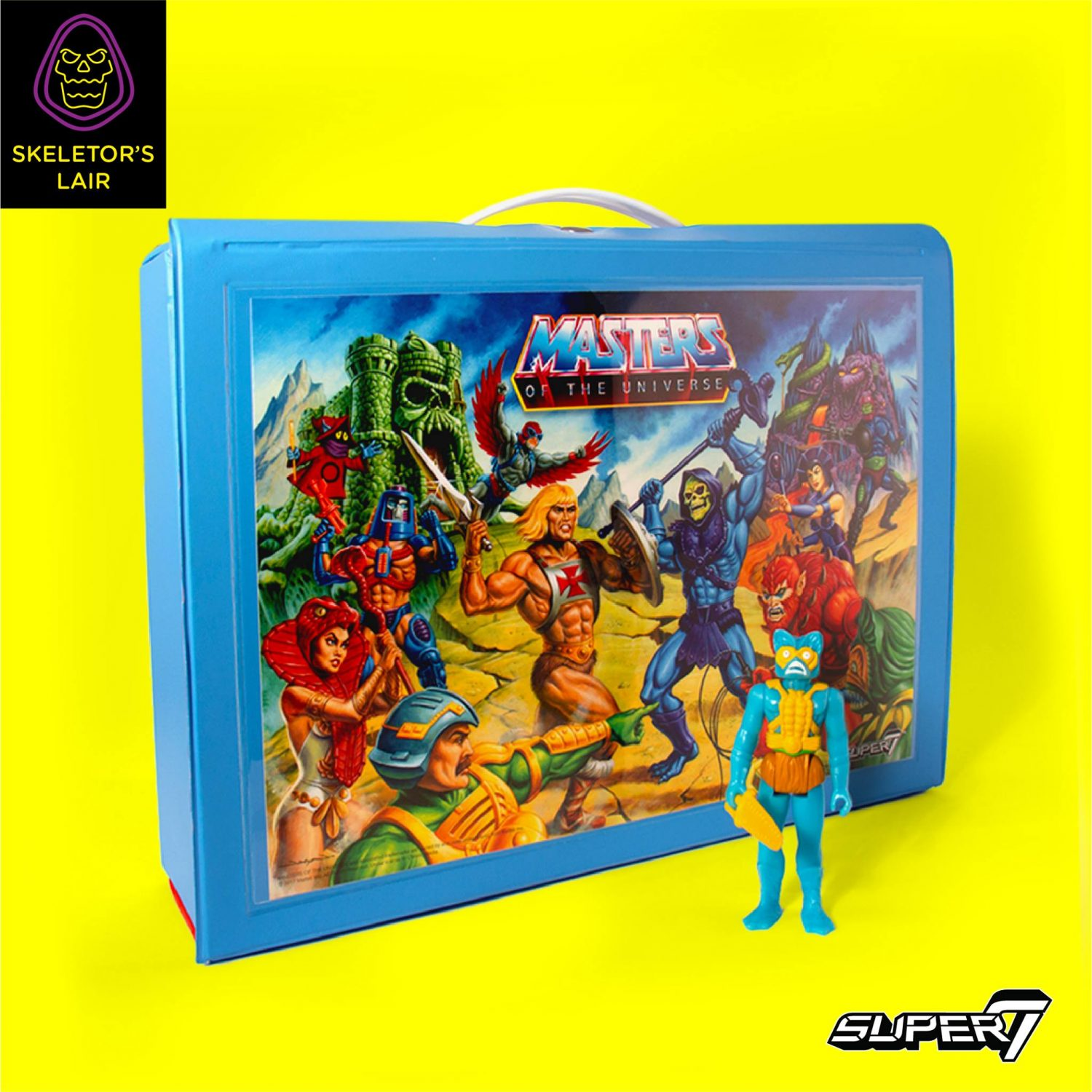 Super 7 Masters Of The Universe ReAction Figure Carrying Case