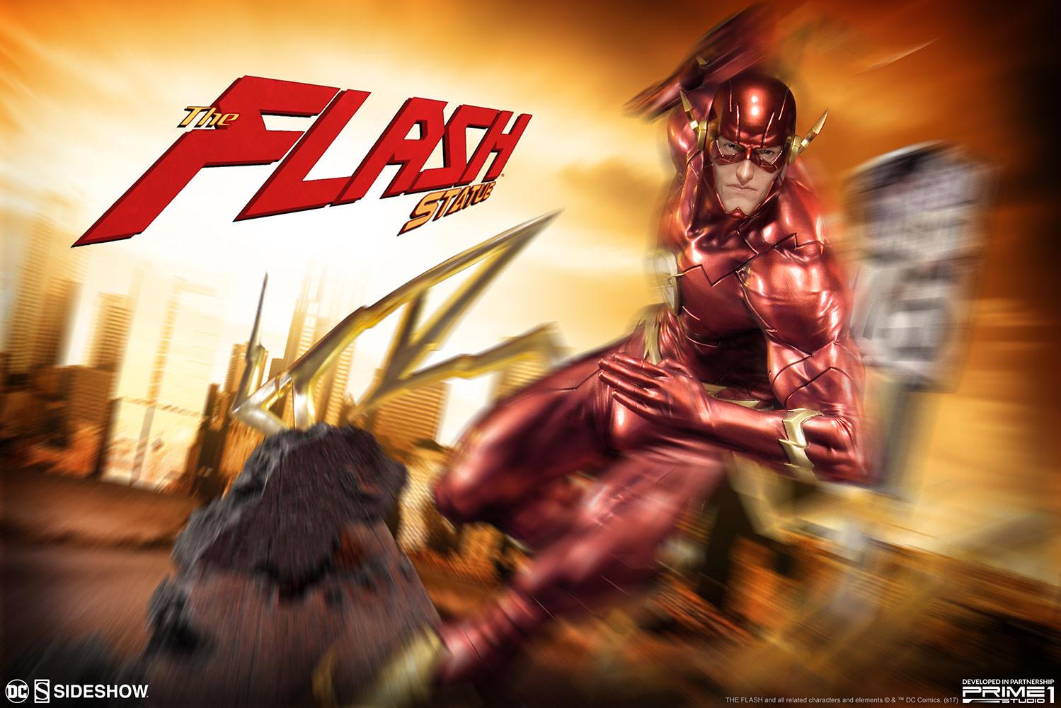 Prime 1 Studio DC Comics The Flash Statue Pre-Order