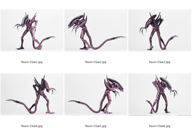 NECA Toys Alien Vs Predator Arcade Razor Claws Behind The Scenes