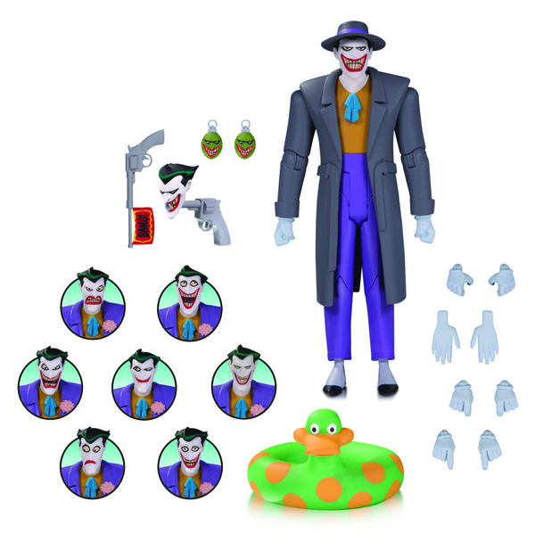 DC Collectibles Shipping This Week – Batman: The Animated Series The Joker Expressions Pack