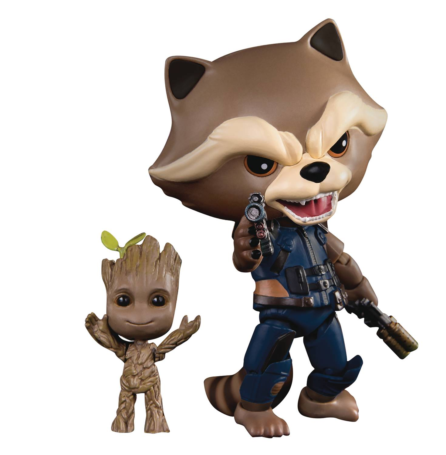 Beast Kingdom Previews Exclusive Guardians Of The Galaxy Rocket & Groot Figures