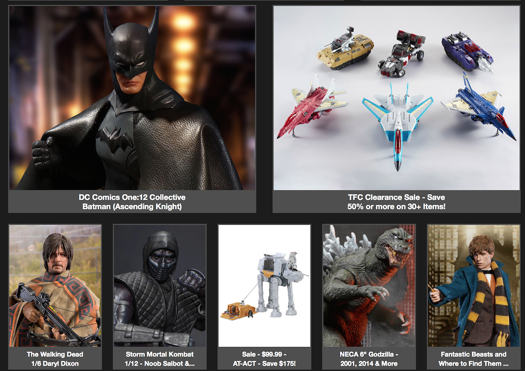 BigBadToyStore: One:12 Batman, The Walking Dead, Magneto, T-Shirts, Zelda Umbrella, Kitchenware & More