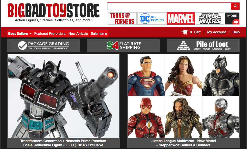 BigBadToyStore: Transformers, Justice League, Hot Toys, NERF, Godzilla, Marvel Legends, Blame! & More