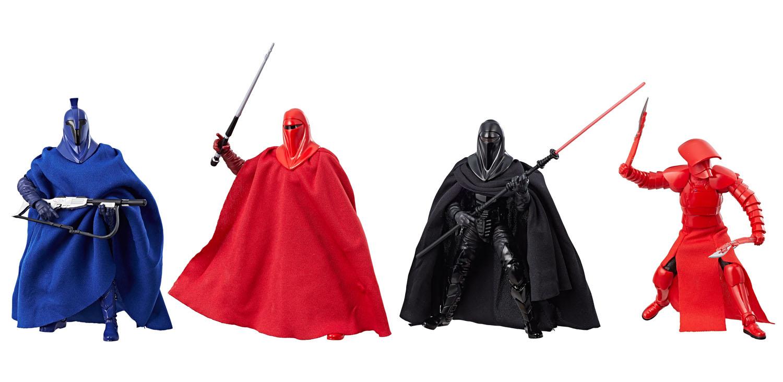 Hasbro Star Wars The Black Series – Guardians Of Evil 4-Pack & Supreme Leader Snoke Pre-Orders On GameStop