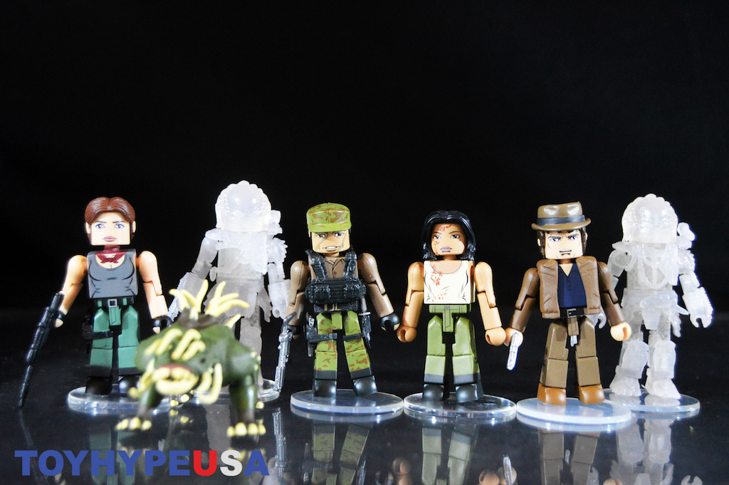Diamond Select Toys Predator Minimates Series 4 2-Packs Review