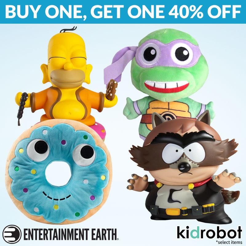 Entertainment Earth: Star Wars, Marvel, Kidrobot BOGO Sale & More
