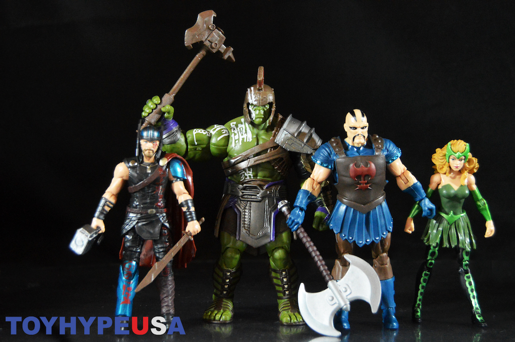 Hasbro Thor: Ragnarok & The Mighty Thor 3 3/4″ Marvel Legends 2-Pack Figures Review