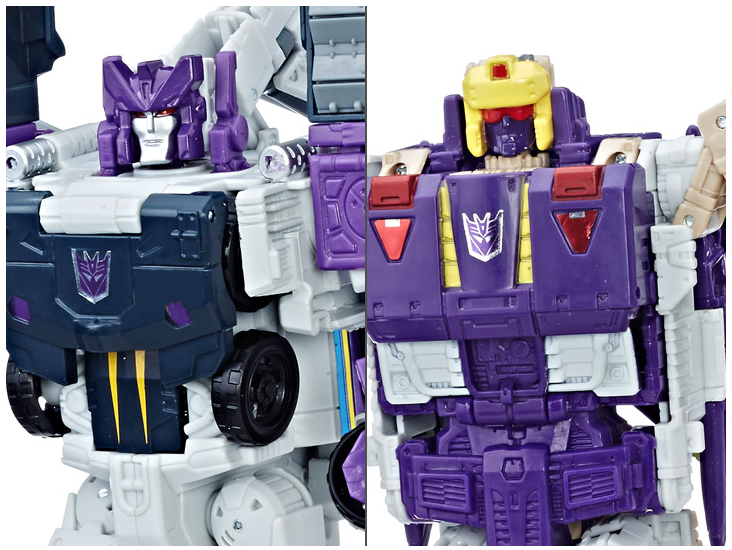 Hasbro Transformers Titans Return Voyager Class Astrotain & Blitzwing Figures Released