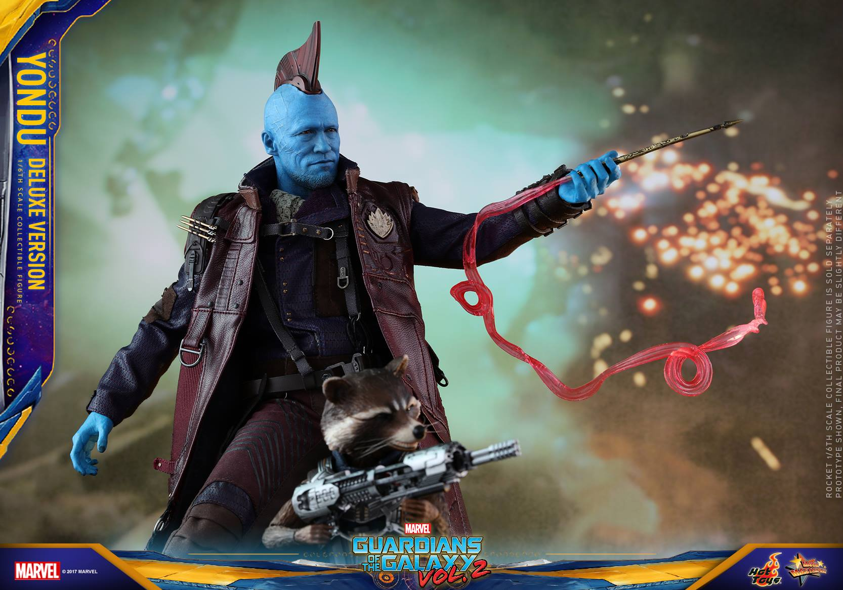 Hot Toys Guardians Of The Galaxy Vol. 2 Yondu Sixth Scale Figure