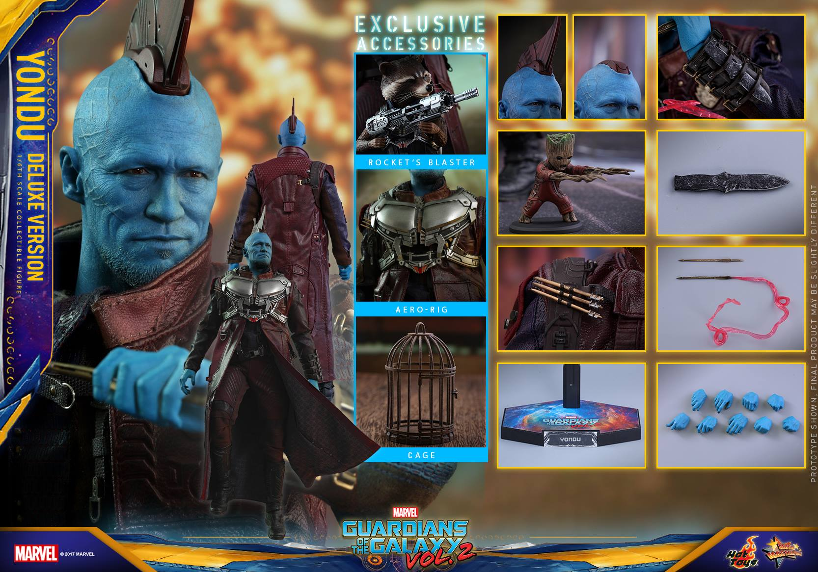 Hot Toys Guardians Of The Galaxy Vol. 2 Yondu Sixth Scale Figure Pre-Orders