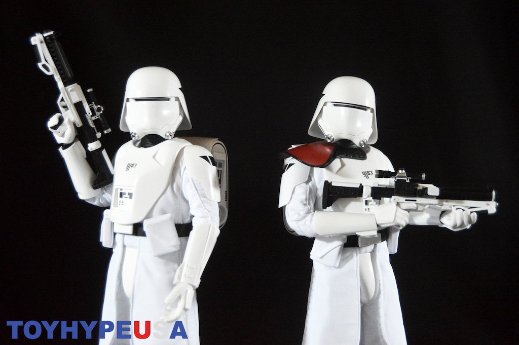 Hot Toys Star Wars: The Force Awakens First Order Snowtrooper Sixth Scale Figures Review
