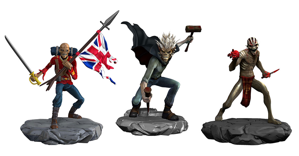 Iron Maiden: Legacy Of The Beast Collectibles Products Available To Pre-Order