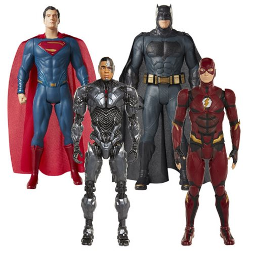 Jakks Pacific Justice League Movie 20″ Big Figs Wave 1 Pre-Orders