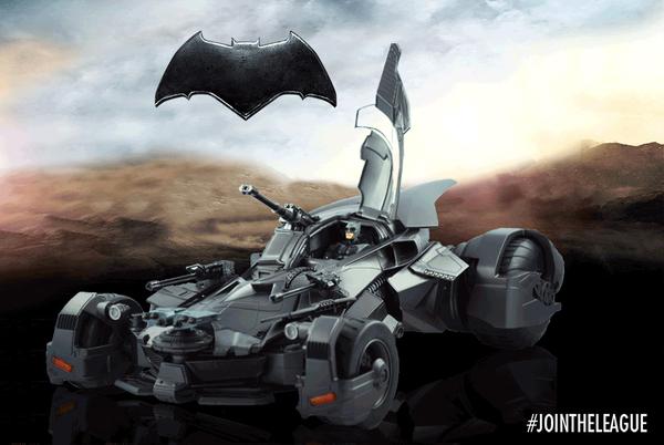 Mattel: Justice League Movie Multiverse Batmobile Vehicle Pre-Orders