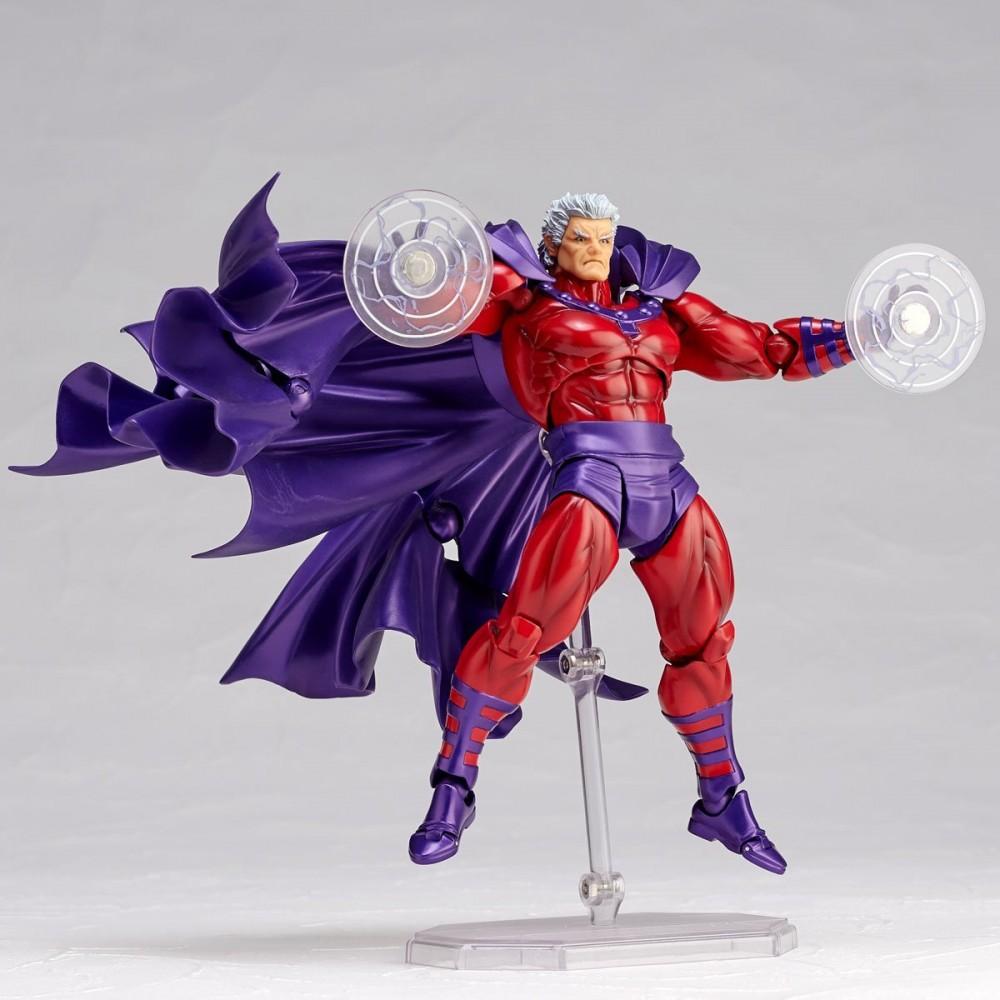 Kaiyodo: The Amazing Yamaguchi Revoltech Magneto Figure Official Details & Images